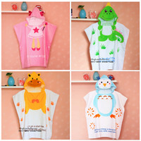 bee bath - Cute Baby Boy Bath Ropes Baby Hooded Swaddle Large Towels Cartoon Animals Head Owl Dinosaur Bee Robes Baby Girl Angel Bath Rope
