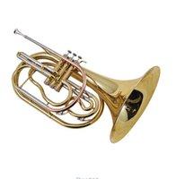 Precio de Marching band-Al por mayor-Profesional marcha trompa jbmf-4 m060Horn clave Profesional trompa, banda dividida Instrumentos de Viento corni