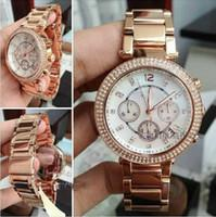 alloy watch bezel - Quality Replicas luxury watch top brand M Women Watch Quartz Wristwatch Diamond Bezel stainless steel band K lady