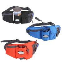 Wholesale Top Quality Waist Bags Running Bag Travel Hiking Sport Pack Waist Belt Zip Pouch Water Bottle Holder