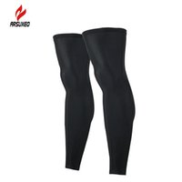 Wholesale ARSUXEO Outdoor Outdoor Sports Cycling Legwarmers Football Soccer Leggning Basketbgall Leg Warmers