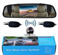 alloy metal monitor - Car Rear View Kit quot TFT LCD Mirror Monitor Wireless Backup Camera Alloy Metal
