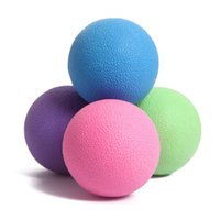 Wholesale Fitness Workout Training Massage Lacrosse Ball Gym Crossfit Yoga Exercise Muscle Relief Trigger Point Knot Relex Hockey Balls