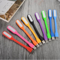 Wholesale USB LED light colorful For PC Power Bank Notebook Computer Laptop Universal USB Port Portable Warm Lamp
