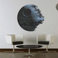 artwork wallpapers - Death star ARTWORK Star Wars home decor Wall sticker Wallpaper wall decals For Kids Children Room cm