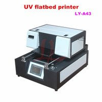 Wholesale LY A42 size x400mm digital flatbed a4 uv printer UV printer cell phone case plastic card transparent business