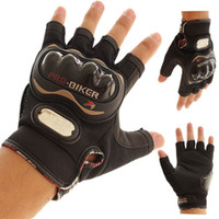 Wholesale PRO BIKER Motorcycle Gloves Pro biker half finger Racing motocross motorbike motocicleta guantes gloves Men Dirt luvas para moto eldiven L
