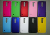 Precio de Lumia cubierta dura recubierta de goma-Mate de plástico duro de la caja de la caja de aceite de goma Rubberized para Nokia Lumia 950 LG G FLEX 2 Espíritu C70 H422 piel cubierta trasera de protección de lujo