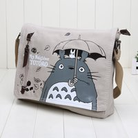 Wholesale Japan cartoon anime My Neighbor Totoro messenger bags durable anime bag good gift for kids