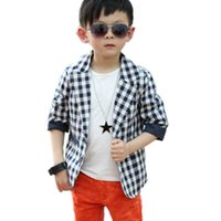 baby duck applique - Cool Baby Boys Cotton Suit Plaid Dots Print Blazer Kids Jacket Coat Casual Fall Y