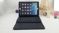 apple style keyboard - Bluetooth Keyboard ABS Stylish Portable Detachable with Leather Case Business Style for iPad Air iPad Black NICE P1316