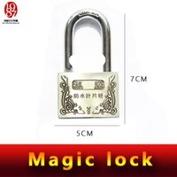 Wholesale Takagism game prop real life room escape props magic lock do not need keys to open this magic lock