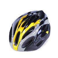 Wholesale Ultralight Cycling Helmet Breathable Bicycle Helmet Women Men Integrally molded Bike Helmet Visor Mountain Bike Safety Helmet