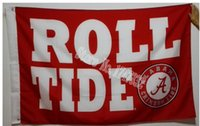 alabama roll tide - The University of Alabama Roll Tide Flag hot sell goods X5FT X90CM Banner brass metal holes AC06