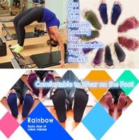 Wholesale New Manufacturers selling yoga socks Open toed yoga cotton socks spot yoga five toe socks Sports Socks