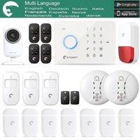 Wholesale S3B Network Camera eTiger Intruder Burglar Alarm GSM SMS Alarm S4 GSM SMS Alarm System as same as chuango G5