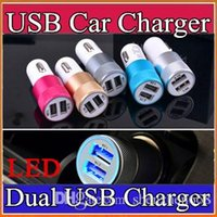 amps to volts - 100X Best Metal Dual USB Port Car Charger Universal Volt Amp for Apple iPhone iPad iPod Samsung Galaxy Motorola Droid Nokia HTC K SC