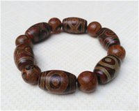 Wholesale 100 Natural third day bead RED agate jade beads bracelet X16X14 MM
