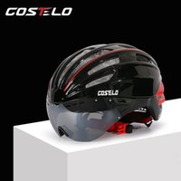 Wholesale 2016 Costelo Cycling Helmet Colors MTB Road Bike Helmet Bicycle Helmet Casco Speed Airo RS Ciclismo Goggles with Lens