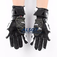 Wholesale Hot Sale Top Brand GP PRO Motorcycle TOP Leather Motocross Moto Road Racing Gloves Motorbike Protection Stars New