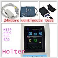 abpm blood pressure monitors - Air Parcel Shipping ABPM SpO2 Ambulatory Blood Pressure Monitor Automatic h BP Meter PM50 Blood Pressure Holter Monitor