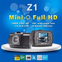 accident kits - Z1 Novatek car accident camera kit FHD P FPS inch TFT Screen with G sensor Registrar Car DVR