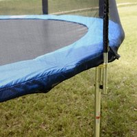 Wholesale 12FT Safety Pad Spring Round Frame Pad Cover Replacement for Trampoline Blue