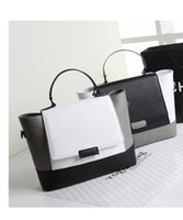 big hard cover - Patchwork Designer Handbags Women Messenger Bags Fashion Shoulder Totes Cross Body Bag PU Leather Hobo Big Capacity Portable Bags