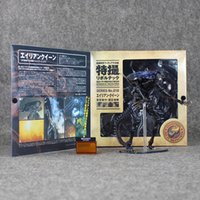 alien series - 32CM NECA Sci Fi Horror Movie Aliens Series No Alien Queen Action Figure Toys retail