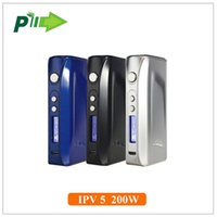 Wholesale 100 original Pioneer4you ipv5 w tc box mod with Yihi SX330 chip ipv mod fit uwell crown tfv4 tank