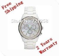 Precio de Cerámica blanca reloj de pulsera-envío libre HK _Absolute de lujo del nuevo Mens del cronógrafo negro reloj de cerámica AR1456 Reloj de pulsera de cristal Gent 1456 + caja original