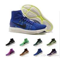 bamboo boots - Cheap Running Shoes Men Women Lunarepic Flyline Sneakers Original Discount High Cut Boots Sports Shoes