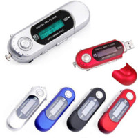 Wholesale Portable G USB MP3 Player Mini mp3 Players Sports Music Player Walkman Digital LCD Display Bulit in GB Can be used as