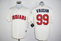 Wholesale 2016 Flexbase Stitched Baseball Cleveland Indians Francisco Lindor Vaughn Kipnis Brantley blue white