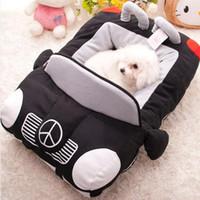 Wholesale Soft Pet Car Dog Cat Kennels Pads Pet Warm Waterloo Cotton Pad Bed Cashion