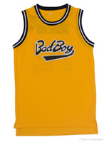 Wholesale Retro Basketball Jersey Bad Boy Basketball Jersey Cool Basketball Shirts Fashion Sport Jersey Breathable Stitched Jersey Men
