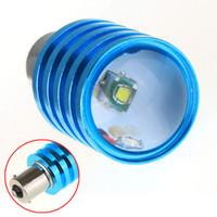 Wholesale 2Pcs DIY BA15S CREE LED Car Reverse Light Lamp Car Tail Light Bulb Q5 W White Vehicle Auto Bulb Turn Signal Light Lamp order lt no
