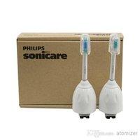 Wholesale Sonicare HX7002 E Series Replacement Brush Head box by Brown box Replacement Brush Heads