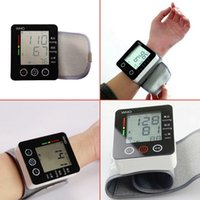 Wholesale CK W132 Touch Wrist Blood Pressure Monitor Watch Medical Arm Meter Pulse