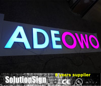 Wholesale Outdoor D Acrylic led channel letter signs