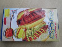 baking sausages - Curl a Dog DIY Spiral Hot Dog Cutter Slicer Sausage Baking Utensils Cutting Fun Easy To Make DHL AA