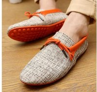 Wholesale hot sale men shoes spring summer breathable fashion weaving Woven men casual flat shoes lace up loafers comfortable mocassins