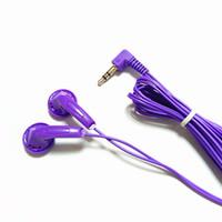 aviation headset pc - Economical purple Stereo Earphones aviation headsets