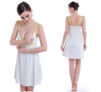 Wholesale Lactation dress maternity clothes nylon silk Home Furnishing Fashion Maternity Tank Tops Breastfeeding Top Undershirt Camis