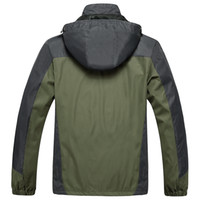 Wholesale camping hiking men s jacket outdoor fishing rain coat windproof spring autumn winter mountain climbing thermal casual jacket