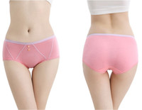 Wholesale Ms lace underwear sexy carry buttock breathable briefs