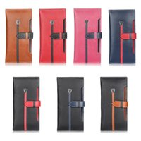 advanced iphone - For iPhone inch inch multi function mobile phone sets of advanced leather wallet hit color sets inch universal package