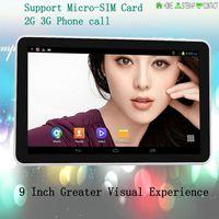 Cheap 9 Inch Dual Core 1GB 8GB 3G External Earphone Jack 1800*480 Built-in 3G WIFI Sim card Ultra Slim External 3G 7 8 10
