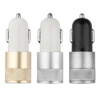 amps to volts - 500X Best Metal Dual USB Port Car Charger Universal Volt Amp for Apple iPhone iPad iPod Samsung Galaxy Motorola Droid Nokia Htc K SC