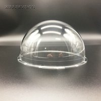 Wholesale 162x85mm CCTV PTZ High Speed Clear Dome Cover Acrylic Plastic Case Lens Protect Housing